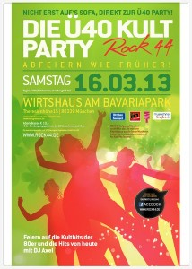 DIE40 Kultparty 161.3.