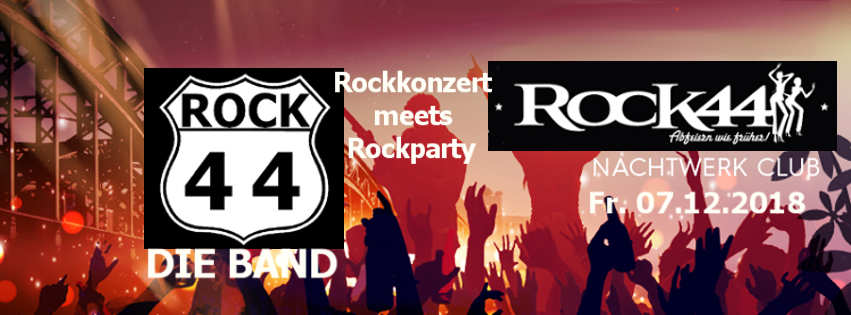 Ü40 Rockparty am 7.12.